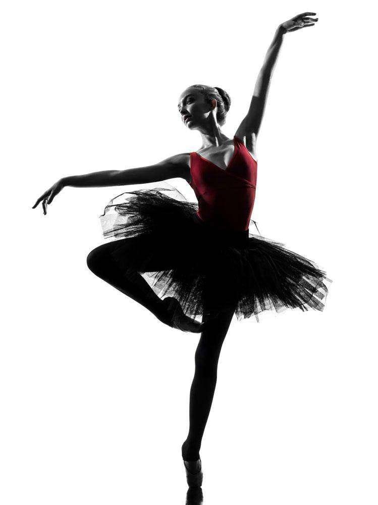 Макет дизайн календарь балет танцы