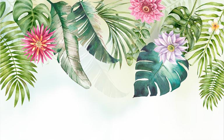 Островитянка: стильные тропические цветы