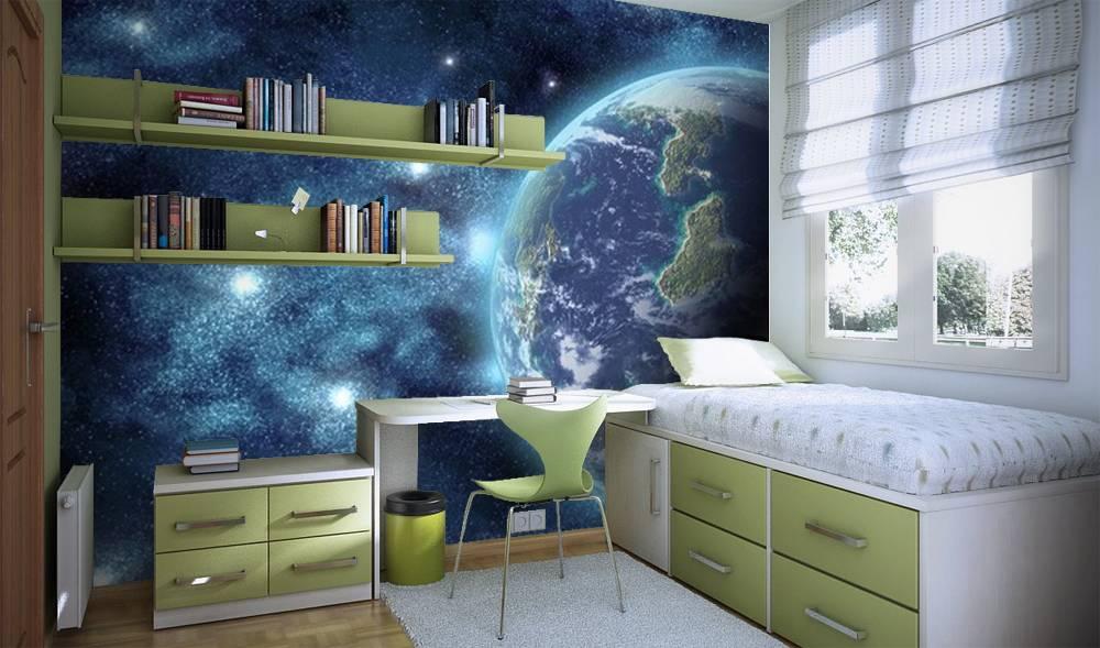 дитяча в космічному стилі