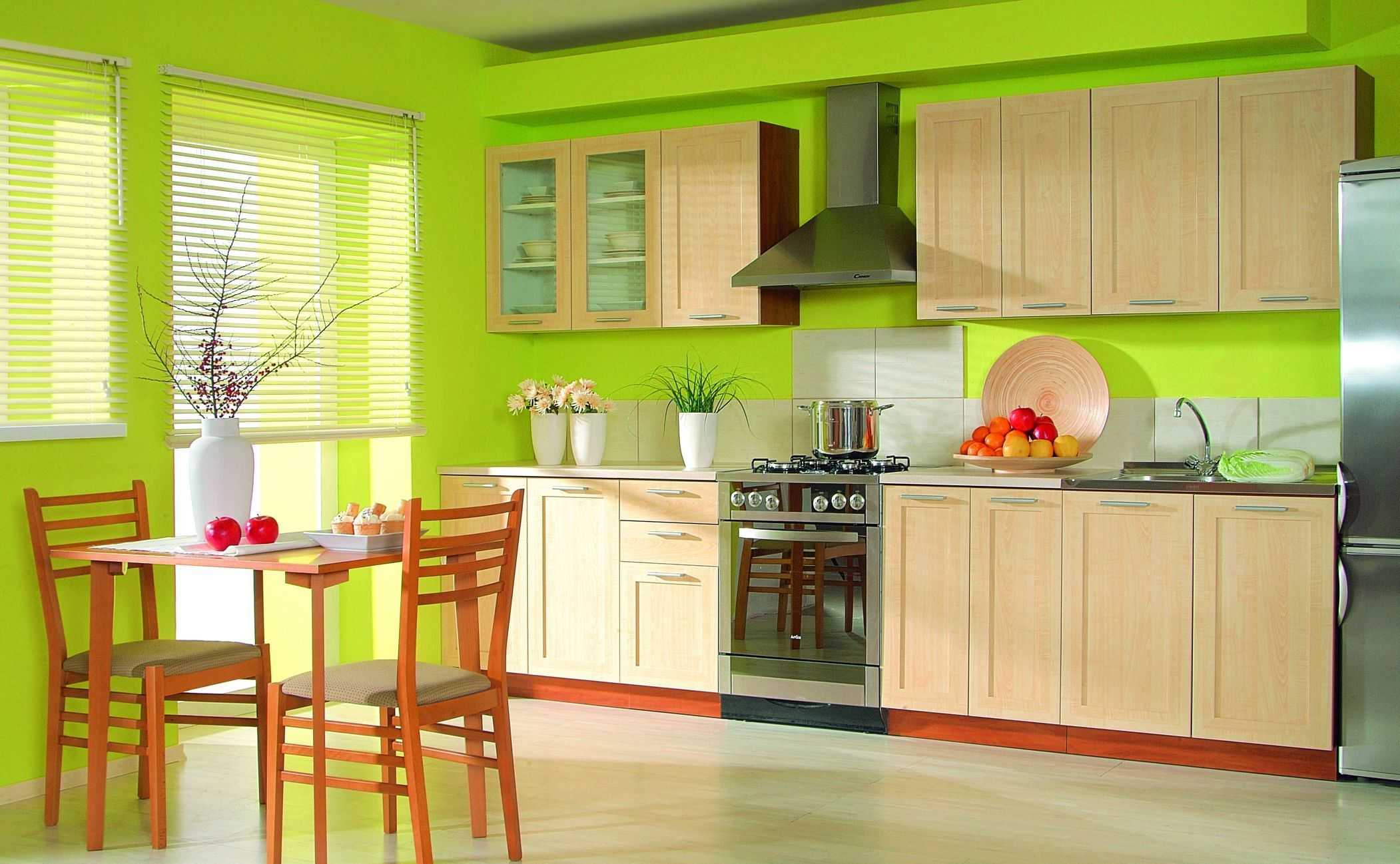 ремонт кухні із застосуванням водоемульсійною фарби