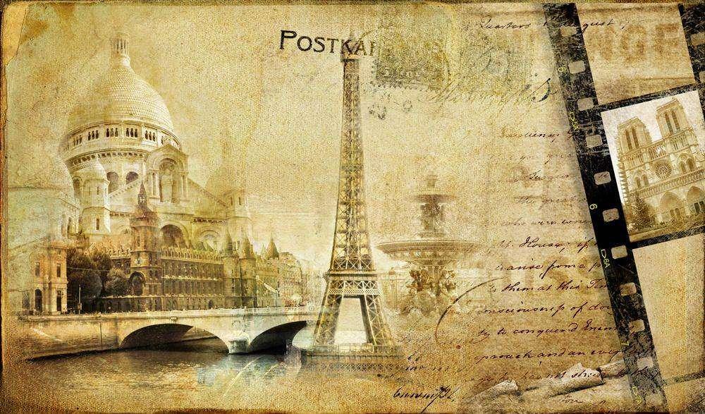 Французские открытки для мужчины