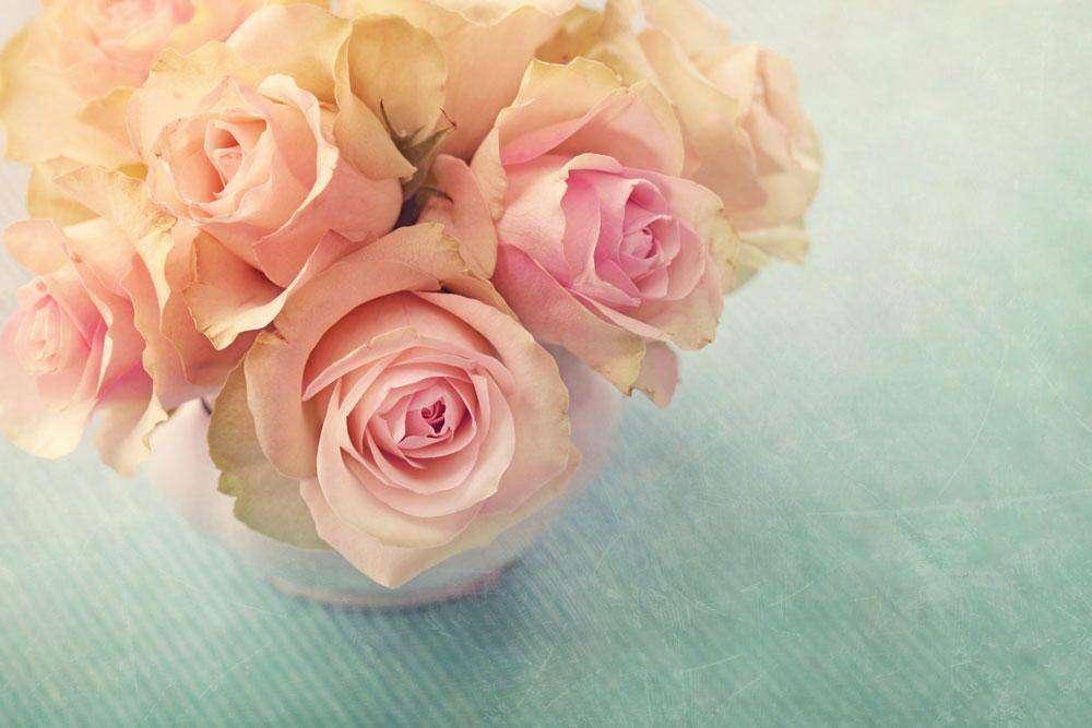 Картина Троянди у вазі №9691. Галерея  Квіти  4d99fdc23fdf7