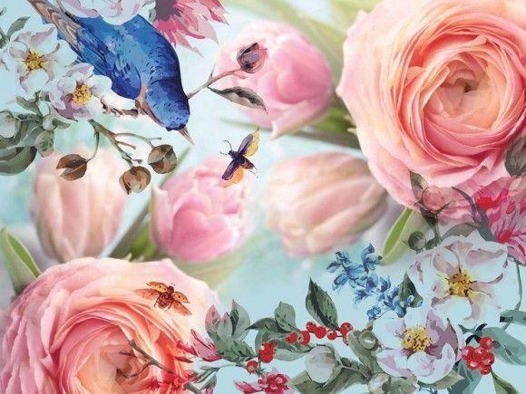 Картини Квіти на полотні  067a825a2cd9e