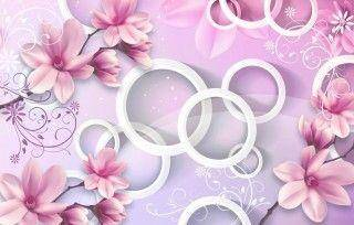 Фон чайные розы