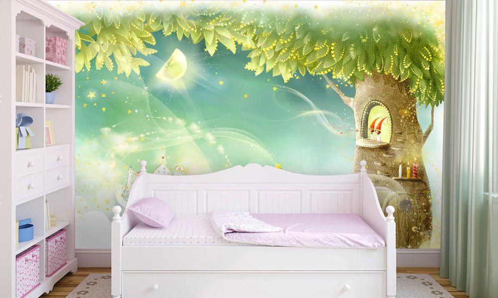 фотообои интерьер дерево сказка детская